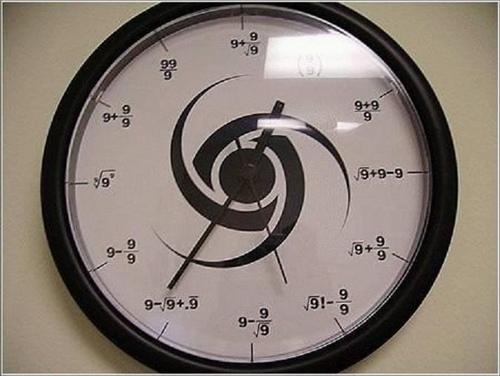 Mathematician Clock.JPG